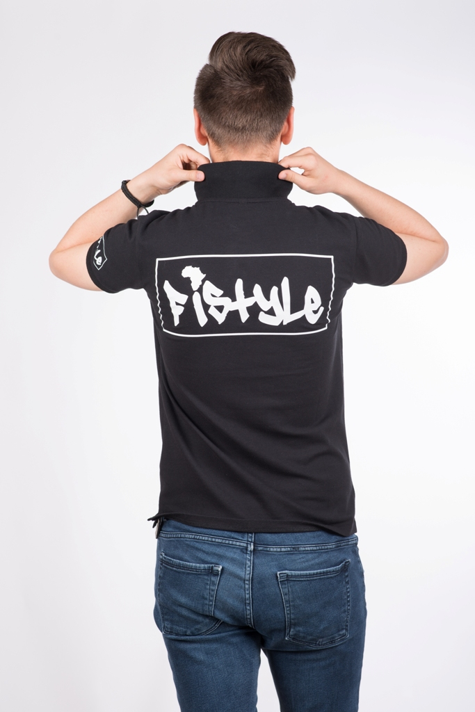 Fistyle Polo Noir 2