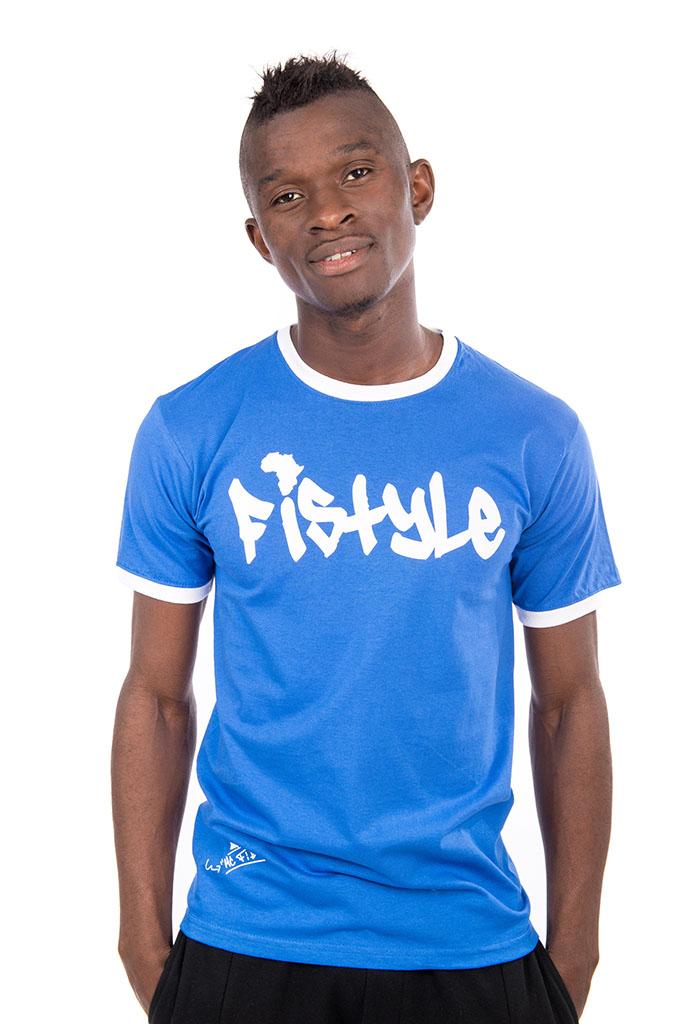 Fistyle T Bleu Royal
