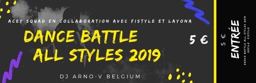 Ticket - Dance Battle All Styles