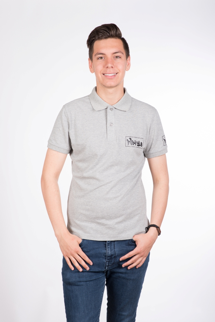 Fistyle Polo Gris