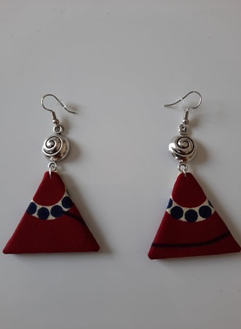 Boucle d'Oreilles Triangle 3 Wax